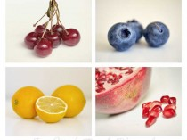 fruit on white wall art