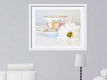 teacup and daisy