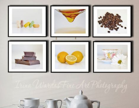 food decor kitchen wall