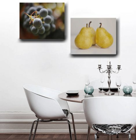 pear food wall decor