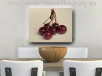 cherry food wall decor
