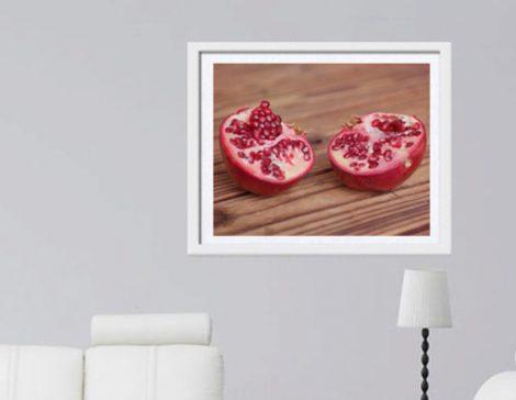 pomegranate food wall decor