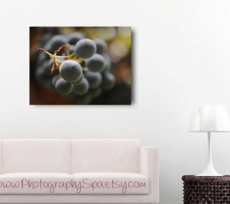 grape food wall decor