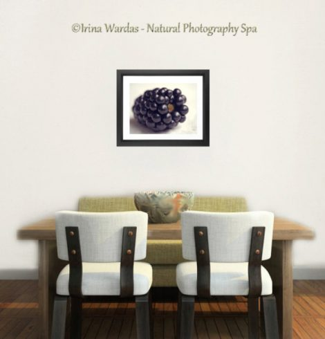 blueberry food decor