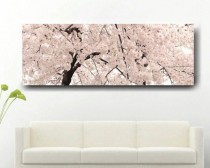 Large Cherry Blossom Wall Art