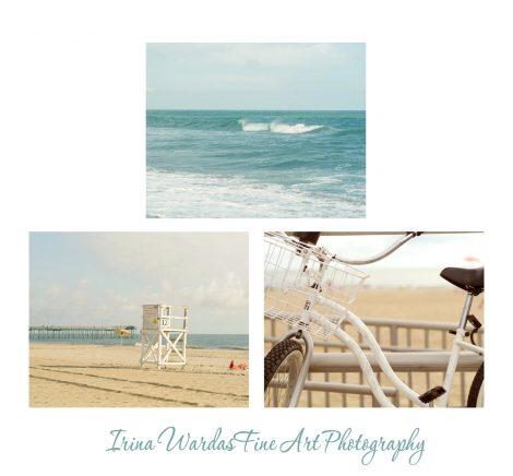 Seashore photography set of 3 coastal prints 11x14, 12 x18, nautical gallery wall set, ocean photography, beach bathroom wall art teal beige