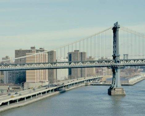 NYC photography, Manhattan Bridge print, New York City photography, industrial art New York wall decor, New York City skyline, East River