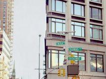 New York City print, street sign art, New York decor, Upper West Side, nyc photography 11x14, Manhattan art, Columbus Brodway corner picture