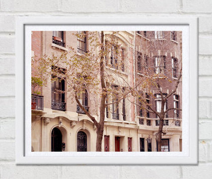 New York photography, New York City architecture art print, Manhattan apartment building, nyc print 8x10, 11x14, New York decor, loft art