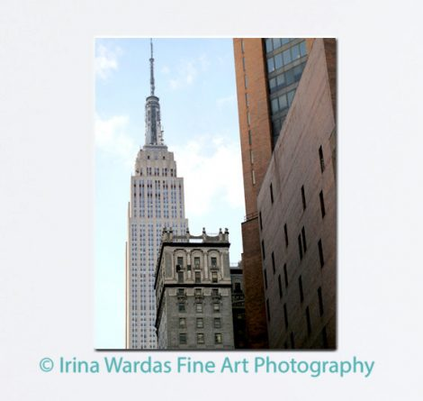 New York canvas, Empire State Building large photograph, New York City large wall art, New York decor, nyc skyline New York architecture art