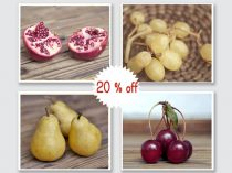 Rustic food photography set, kitchen wall art 4 8x10, 11x14 kitchen prints, rustic dining room decor, rustic fruit prints, fruit wall art