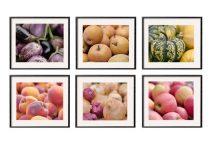 Kitchen prints, kitchen decor, kitchen art set of 11x14, 8x10 kitchen pictures, market fruit vegetables prints, restaurant dine room decor