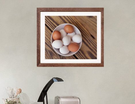 Rustic kitchen wall art, farmhouse kitchen photography, food art print, egg print, still life art, country kitchen wall decor, dining room