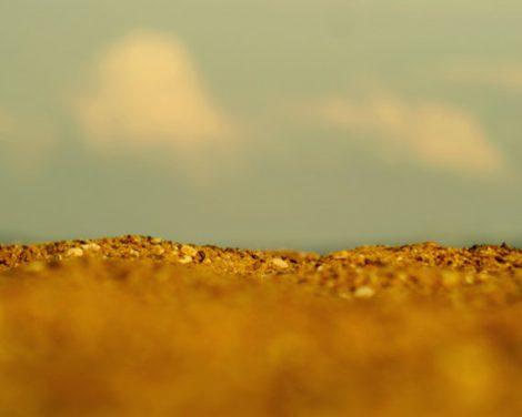 Beach abstract photography, coastal artwork, beach modern art, aqua gold seashore wall art, modern art print, golden orange ochre sand art,