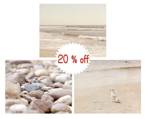 Beach and shore pictures, seashore prints photography 3 11x14, 8x10 beach art prints, neutral wall decor nautical bath wall art beige tan