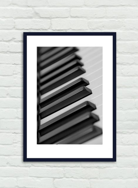 Piano keys, music art print, black and white fine art photograph music decor dorm wall art, music room decor, piano abstract, musician gift