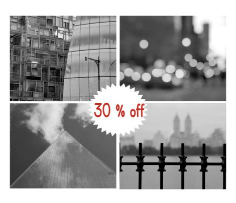 Black and white New York abstract photography prints 8x10, New York City modern gallery wall art set of 4 nyc pictures, New York wall decor