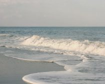 Pastel blue sea photography, beach home wall art, nautical print 11x14 ocean wave seafoam coastal wall art seashore decor, beach bedroom art