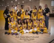 FB 29 November 2011 Faith Middle Volleyball