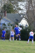 JICS Boys Soccer Action