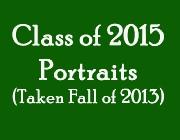 Class of 2015 Portraits