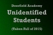 INIDENTIFIED STUDENTS