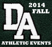 2014 DA FALL ATHLETIC EVENTS