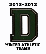 2012/2013 WINTER ATHLETIC TEAMS