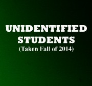 UNIDENTIFIED STUDENTS