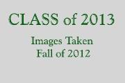 CLASS of 2013 PORTRAITS