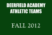 2012 FALL ATHLETIC TEAMS