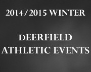2014/2015 WINTER ATHLETIC EVENTS