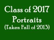 Class of 2017 Portraits