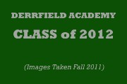 DEERFIELD ACADEMY CLASS of 2012 PORTRAITS