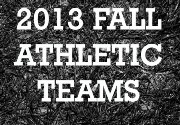 2013 FALL TEAM & INDS