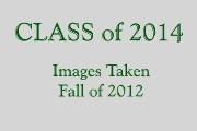 CLASS of 2014 PORTRAITS