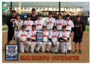 San Diego Cowboys 2012