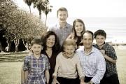 Glickman family at Salt Creek 2.15.15
