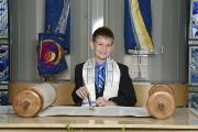 Seaton Bar Mitzvah ceremony 8.17.13
