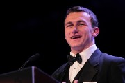 2012 Heisman with Johnny Manziel