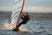 Cold windsurfing
