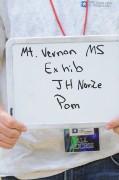 Mt Vernon MS Novice Pom