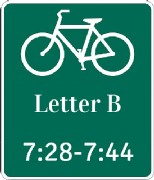 Letter B-Photo Times=7;28-7;44