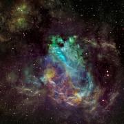 Swan Nebula, Me..