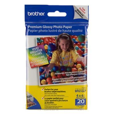 Brother Bp 61glp Premium Glossy Photo Paper - 20 Sheet(S)
