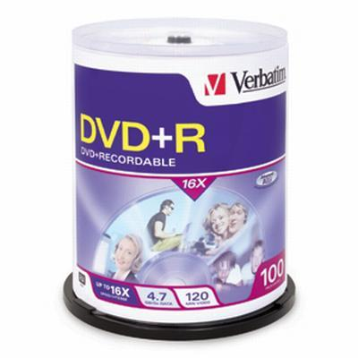 Verbatim Dvd+R X 100 - 4.7 Gb