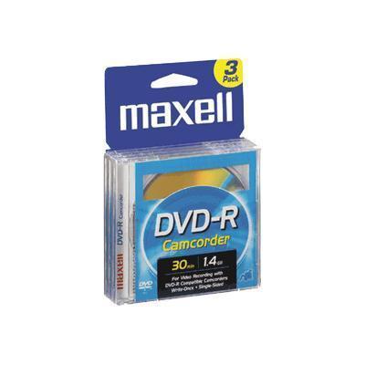 Maxell Camcorder Dvd-R (8cm) X 3 - 1.4 Gb