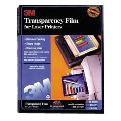 3m Transparencies - 50 Pcs.