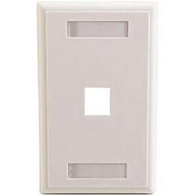 Cables To Go Premise Plus Multimedia Keystone Wall Plate -