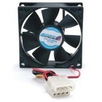 Startech 80x25mm Dual Ball Bearing Computer Case Fan W/ Lp4